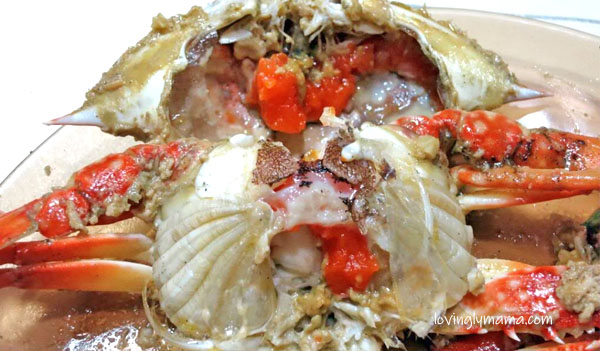 crab maritess recipe -seafood recipe - homecooking - from my kitchen - Bacolod mommy blogger - crab fat - crab maritess with rice - crab fat - aligue - orange crab fat - orange aligue - female crabs