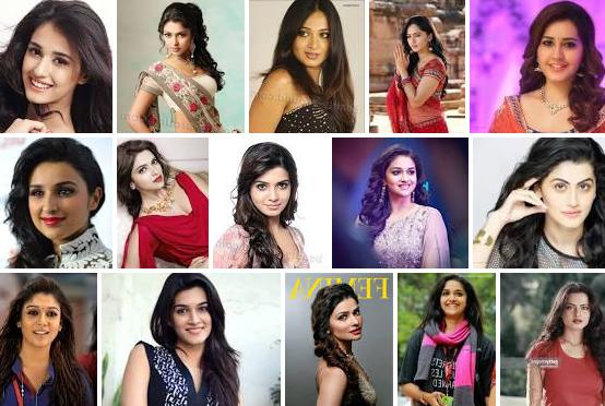 भारतीय हीरोइन के नाम की सूची - List of names of Bollywood actresses