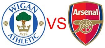 Prediksi Skor Wigan Athletic vs Arsenal 22 Desember 2012