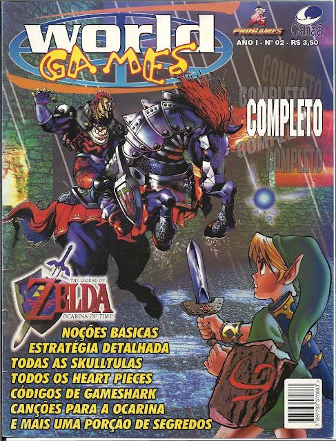 World Games Nº 02 - Detonado Zelda Ocarina Of Time - Edição Completa