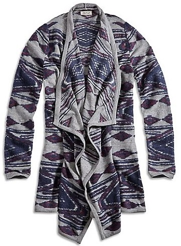 Lucky Brand Aztec Wrap Fall 2015