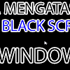 Layar Laptop Blank (Black Screen) Saat Dinyalakan ini Cara Mengatasinya