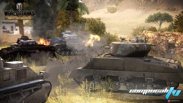 World Of Tanks XBOX 360 Región Free