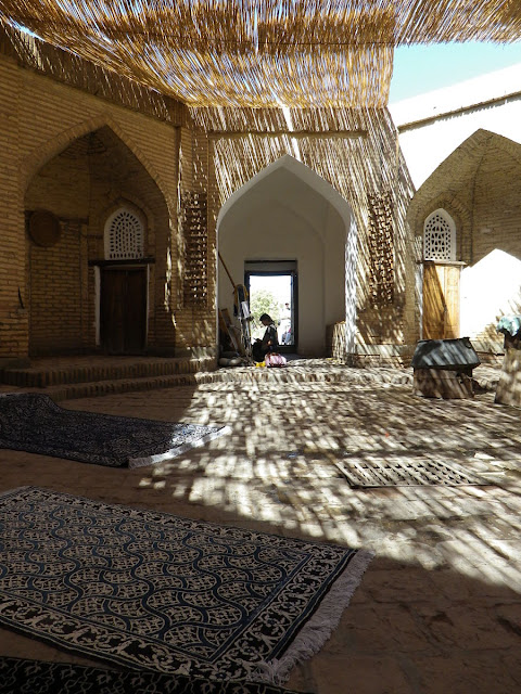 Image Attribute: The courtyard of a typical house in Khiva, Uzbekistan / Source: Stephen M. Bland