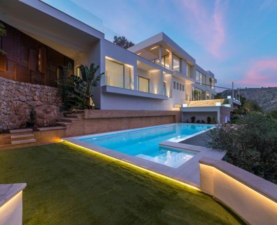 Moderne villen von innen  Moderne Villen Mallorca | Minimalistische Haus Design