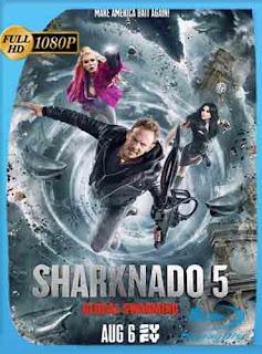 Sharknado 5: Aletamiento Global (2017)HD [1080p] Latino [Mega] SilvestreHD