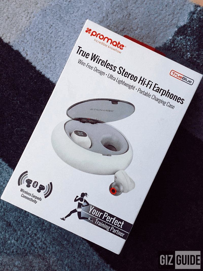 Promate TrueBlue Wireless Stereo HiFi Earphones Review - stylish design with great sound?