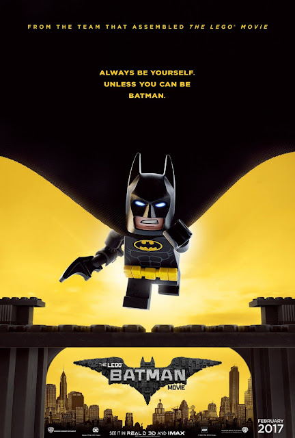 The LEGO Batman Movie Teaser Theatrical One Sheet Movie Poster