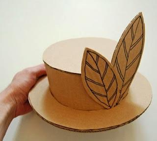 Cara Membuat Topi dari Kardus Bekas Beserta Gambarnya