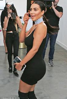 Kim Kardashian on butt implants