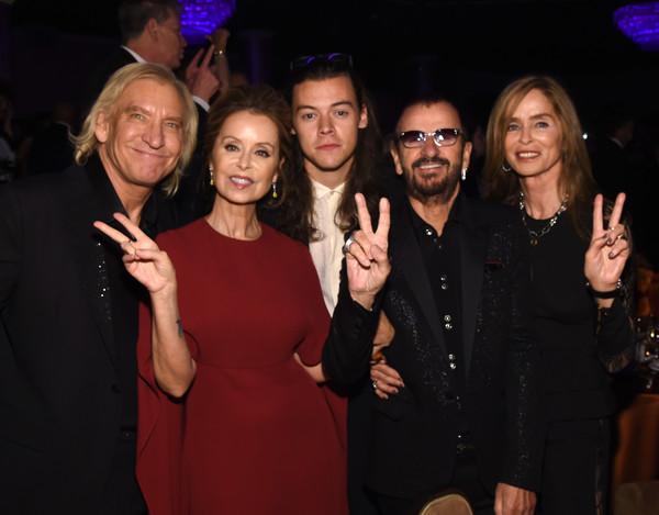 The Beatles Polska: Ringo Starr pokazuje się na imprezach towarzyskich w Beverly Hills