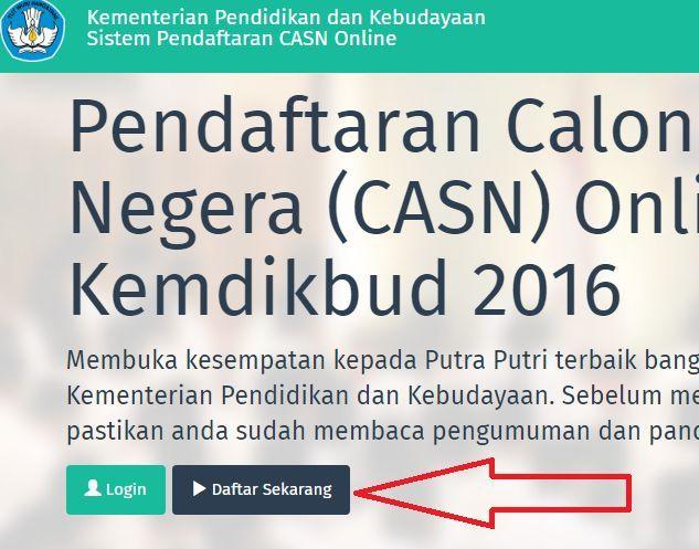 gambar cara daftar CASN Guru Garis Depan (GGD) Kemdikbud 2016