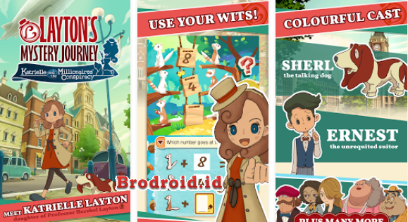 Download Layton's Mystery Journey Mod Apk 1.0.0 Android