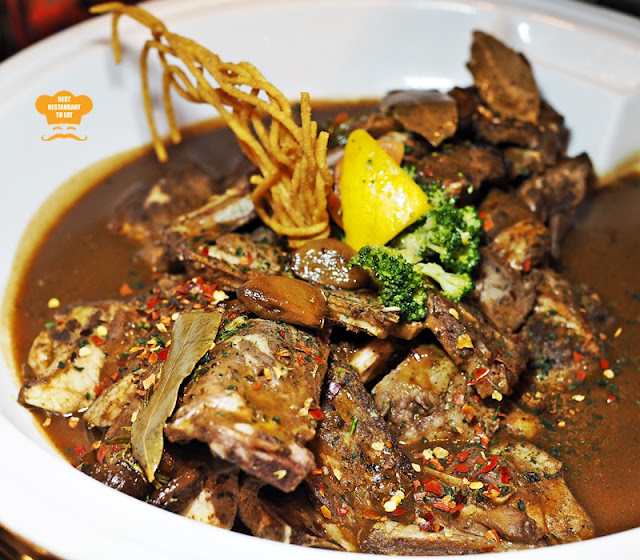Marinated Lamb Shoulder With Sweet Garlic Sauce One World Hotel Bandar Utama Cinnamon Coffee House