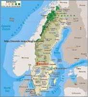 Resultat d'imatges de suecia mapa