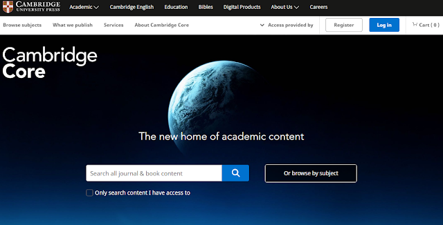 Cambridge Core: Journals & Books Online