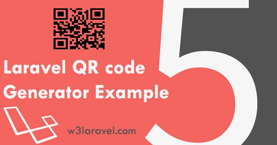 Laravel- QR code generator example using Simple QrCode Package