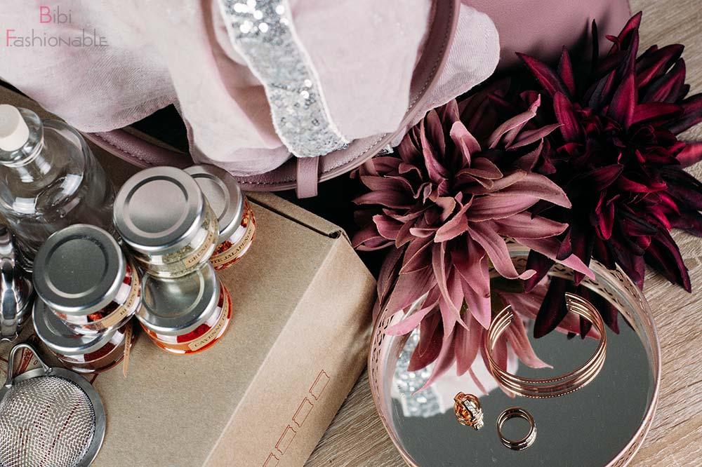 Weihnachtsgeschenke für die Liebsten Flatlay
