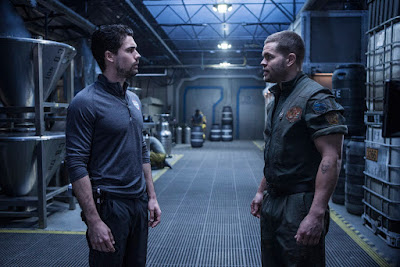 The Expanse Season 2 Wes Chatham and Steven Strait (50)