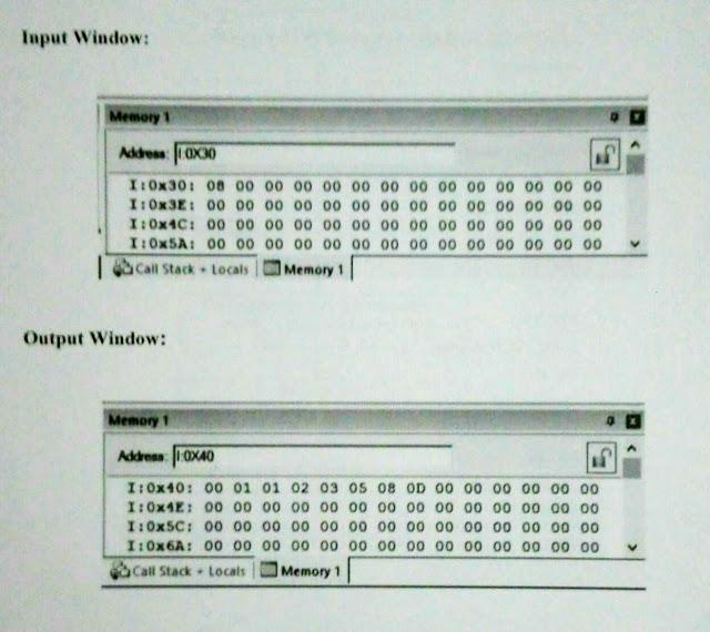 Fibonacci series in assembly language / Spectrum race series