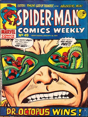 Spider-Man Comics Weekly #49, Dr Octopus, glossy cover