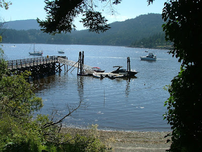 San Juan County dock at Eastsound