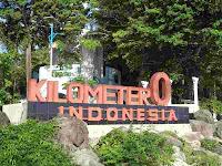 Monument Tugu Kilometer Nol (Zerro Kilometer)