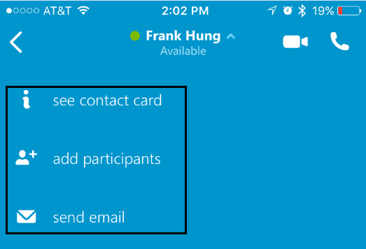 Skype for Business (Lync) mobile app user and admin guide  | UC