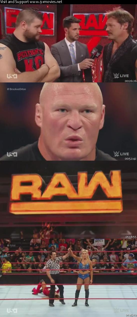 WWE Monday Night Raw 15 August 2016 HDTV 480p