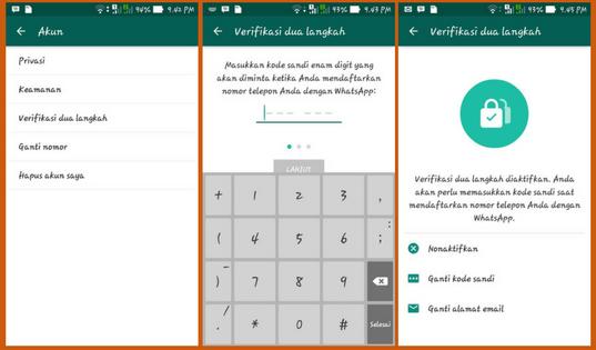 WhatsApp Update Fitur Keamanan Verifikasi Dua Langkah Ini Fungsi Dan Kegunaanya