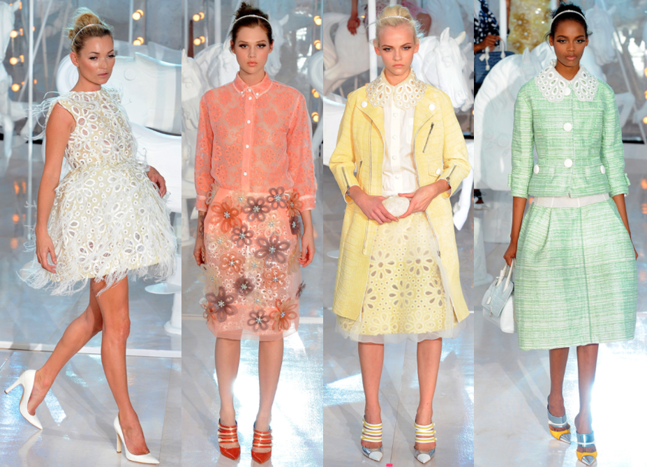 Louis Vuitton by Marc Jacobs SS 2012