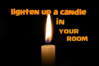 candle to get rid of room smell