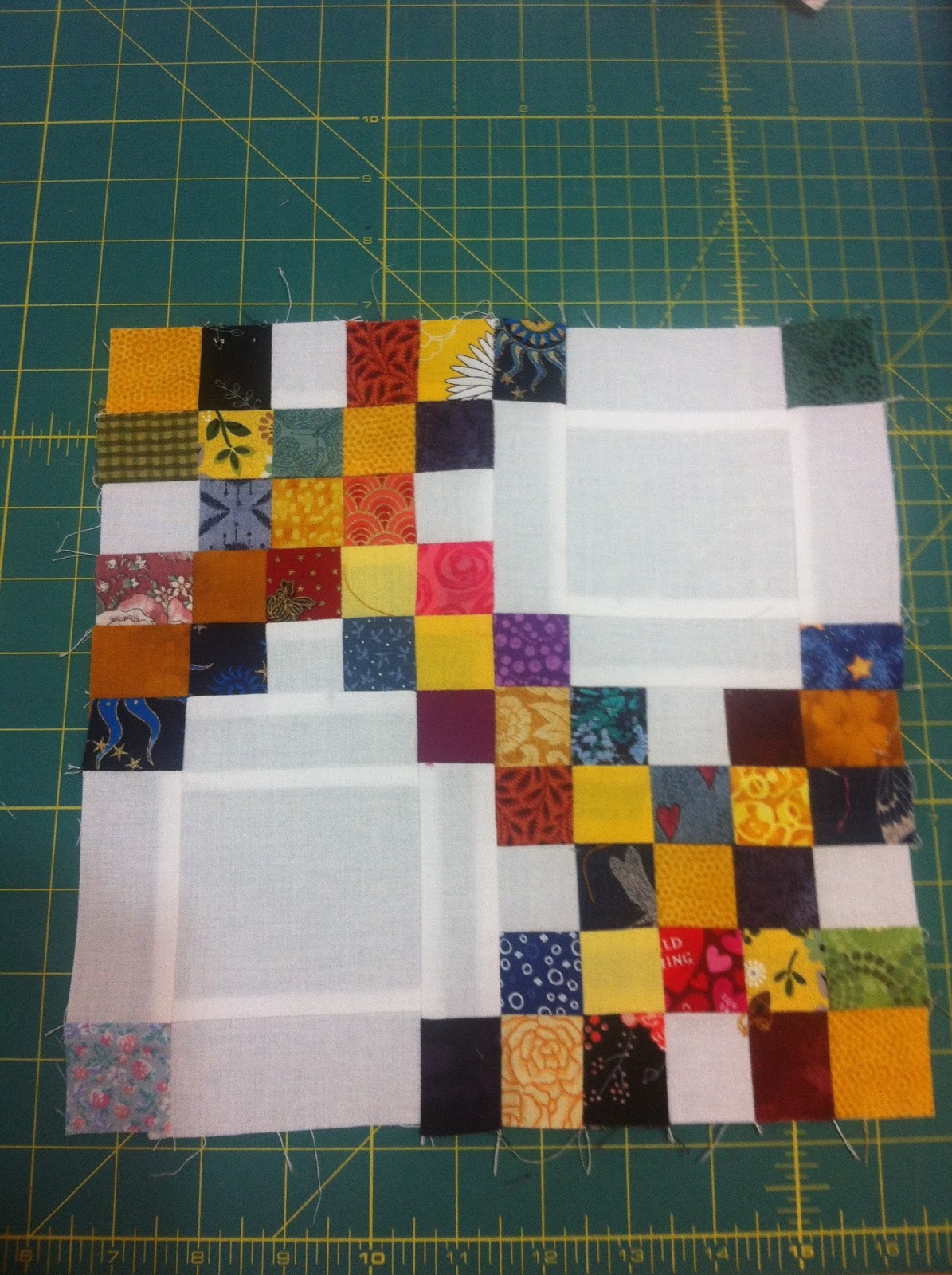 Irish Chain Quilt Pattern Cool Decorating