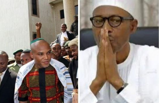 Nnamdi Kanu Threatens To Expose Buhari's 'Deep Secret'