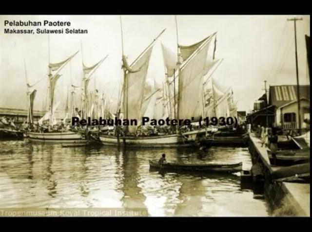 Pelabuhan Potere' Makassar (1930)