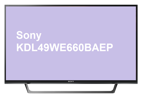 Sony KDL49WE660BAEP TV