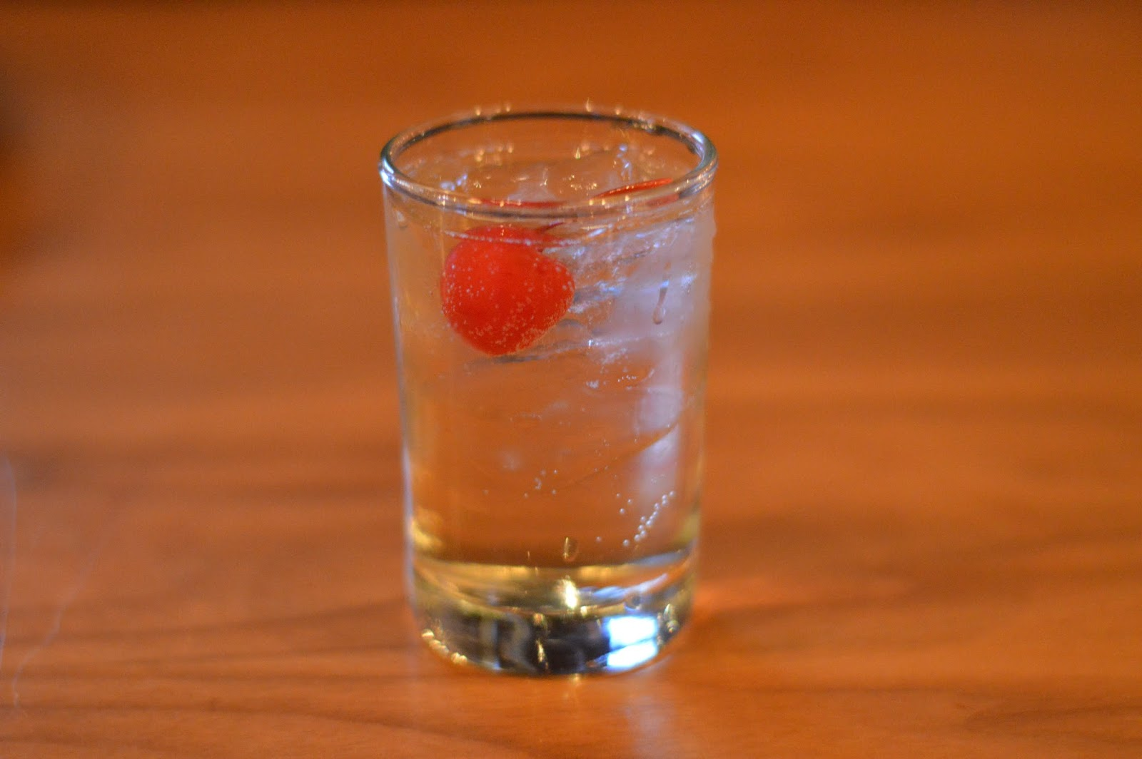 Shirley Temple at Park Tavern- Ultimate Guide to Restaurants in Rosemont   all dressed up with nothing to drink...