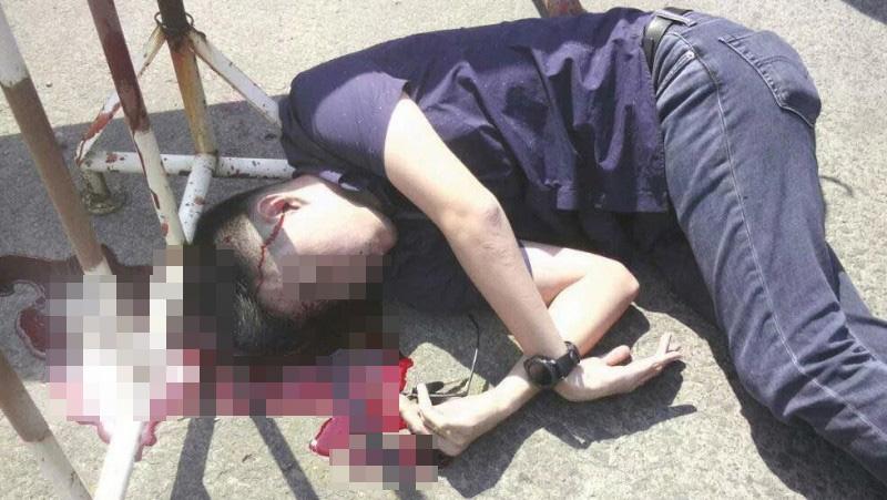 Davidson Tantono tewas ditembak di kepala