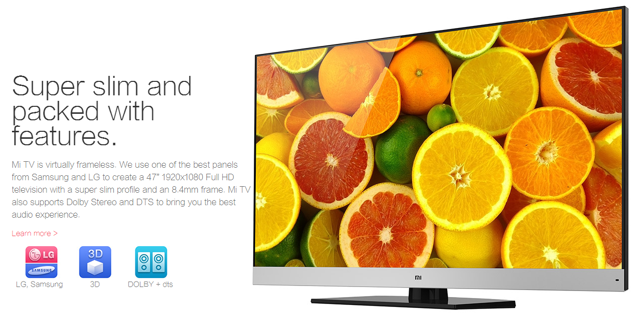Xiaomi Launches 55-inch 4K Mi TV 2 For INR 50,000