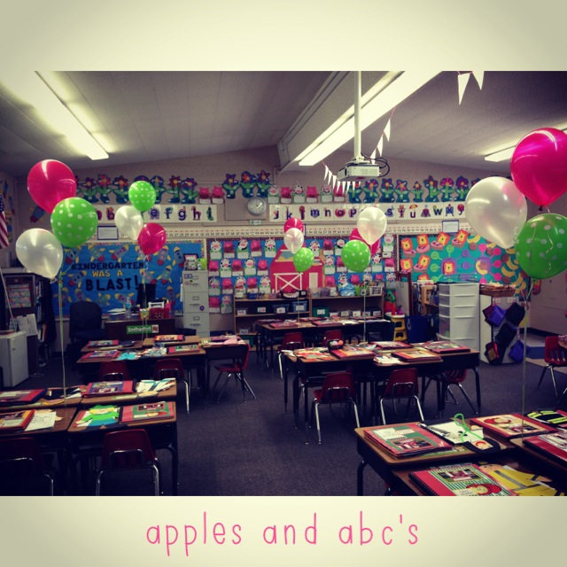 Open House In Kindergarten Apples And ABC's