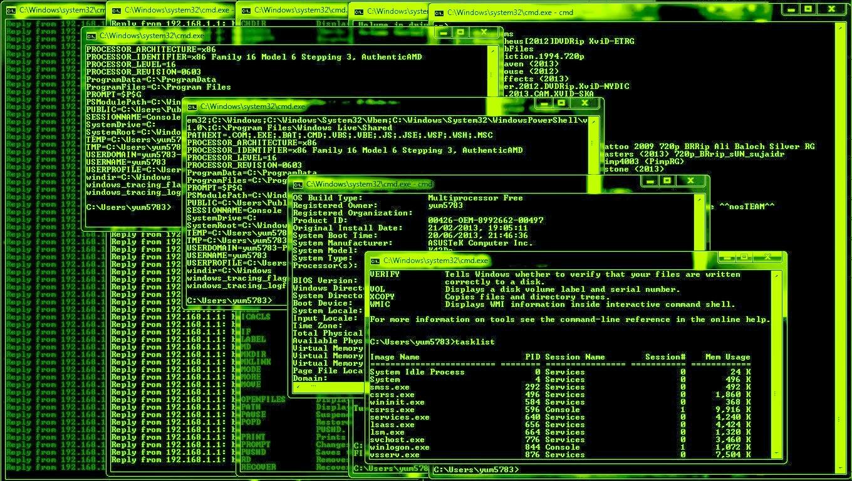 all cmd hack codes