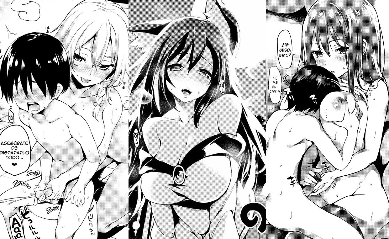 Shota hentai comic think, that