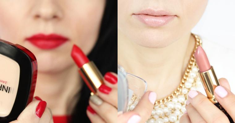 Ulubione kosmetyki 2016 roku - Makijaż - L`Oreal Paris Color Riche Collection Exclusive Pomadka J Lo`s Pure Red Nude