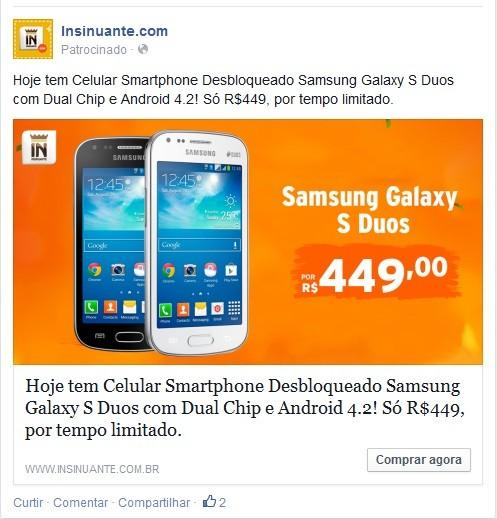 Porque anunciar no Facebook com anúncio de ofertas