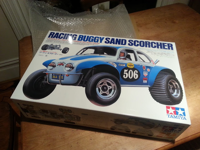 RC Tamiya 1/10 scale Sand Scorcher 2010 re-release