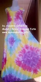 Baju Bali Diamons Pelangi