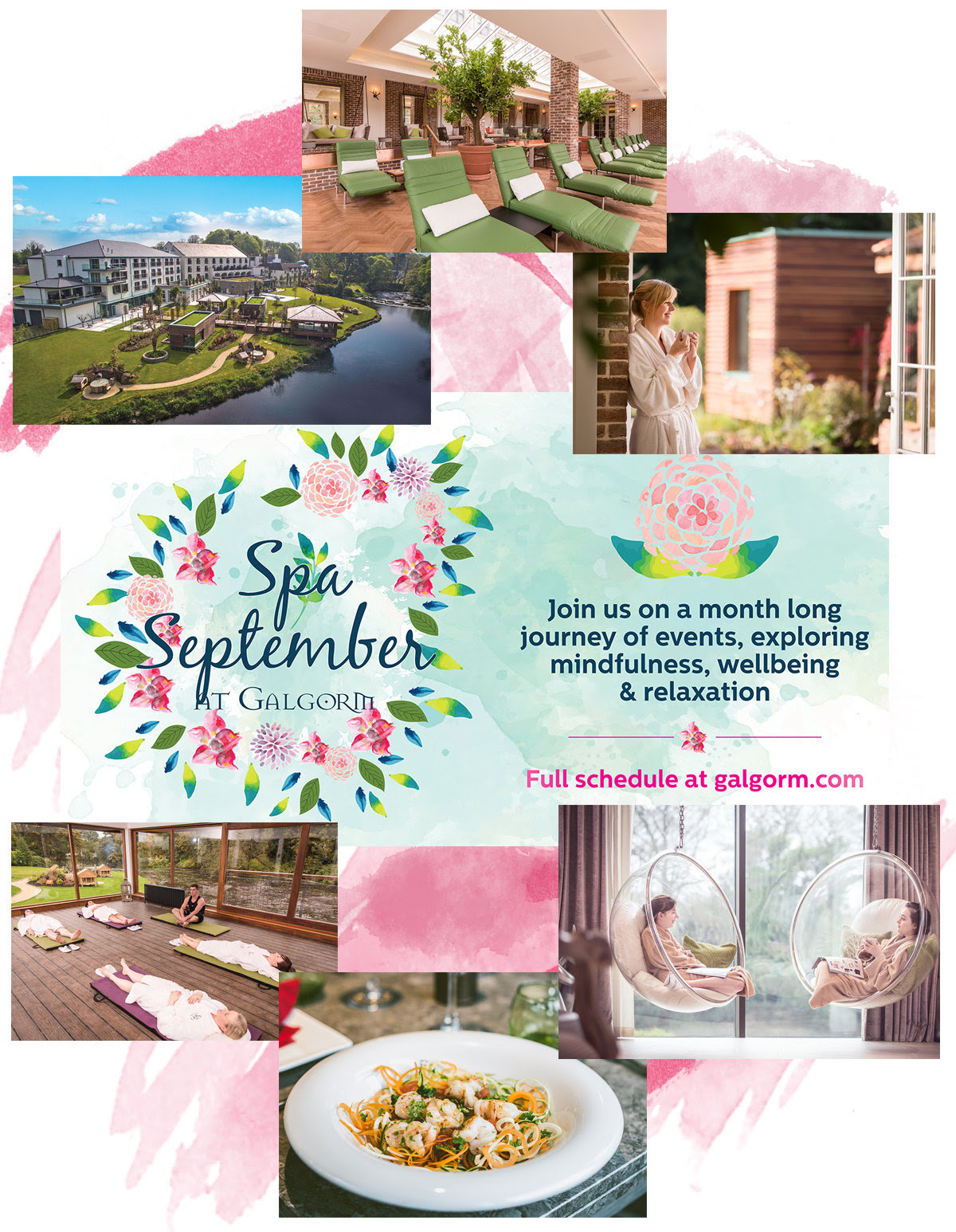 Find Serenity this Spa September With Galgorm Resort & Spa