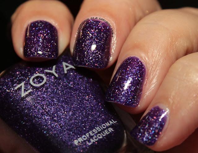Zoya Grunge Metallic Holos - Finley