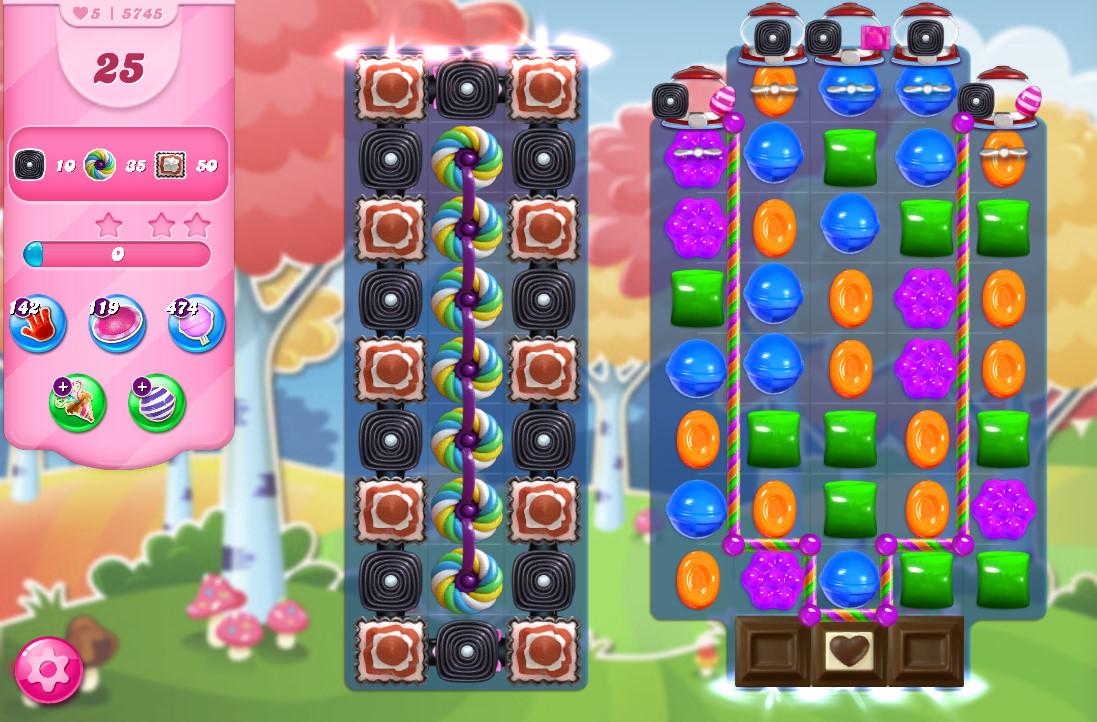 Candy Crush Saga level 5745