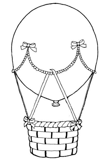 Gambar Mewarnai Balon Udara - 6